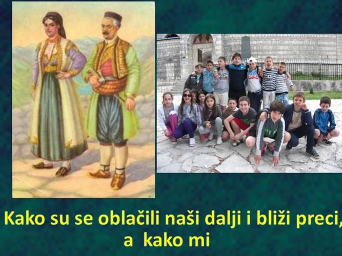 Crna Gora - moda kroz vjekove