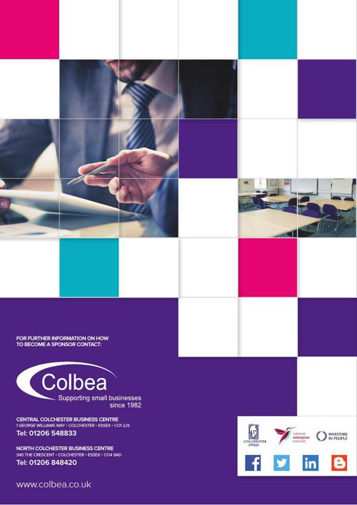 Colbea 2016/17 Sponsor Offer