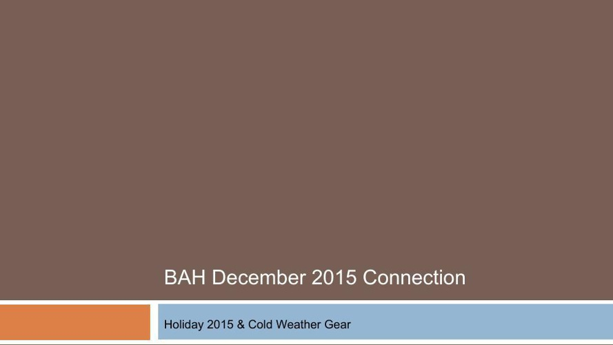 BAH Dec 2015 connection