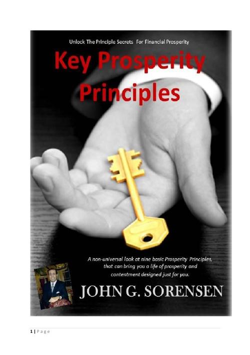 Key Prospertiy Principles