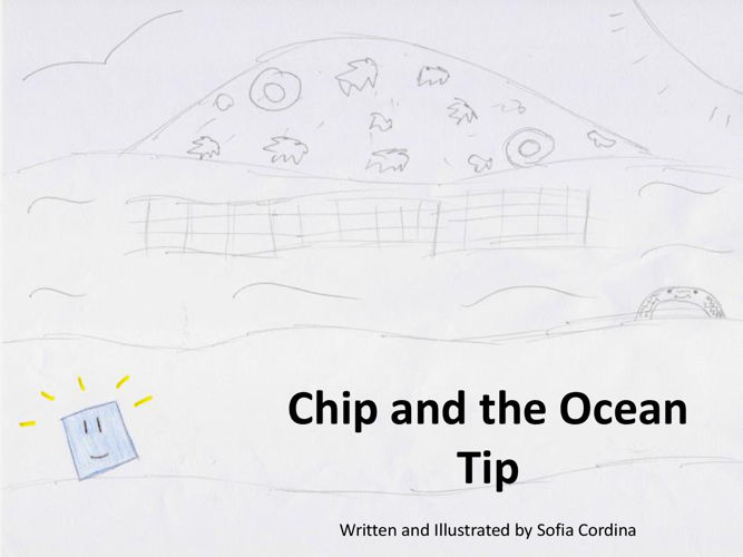 Picture Book Chip and the Ocean Tip - PDF