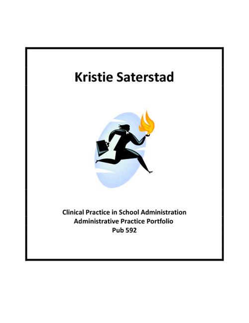 Kristie Saterstad - Administrative Practice Portfolio
