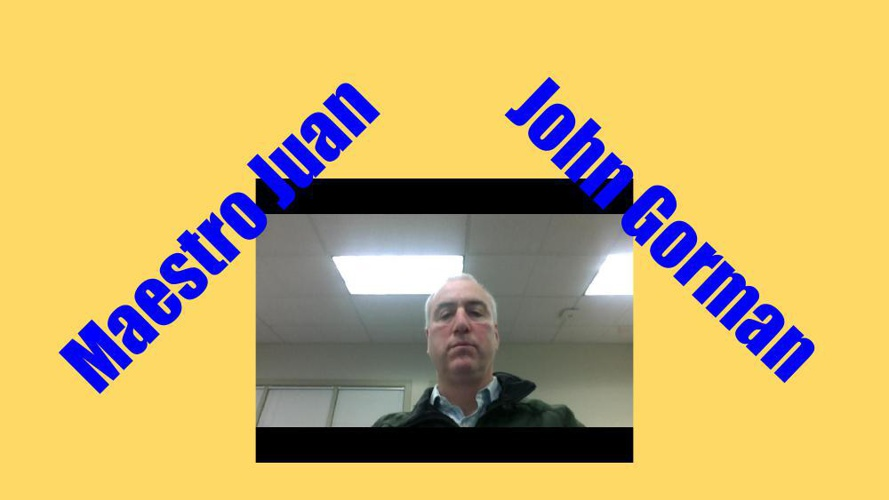 My slides all about John!