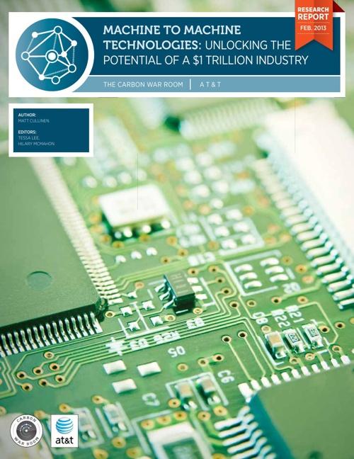 Machine to Machine Technologies Carbon War Room Report