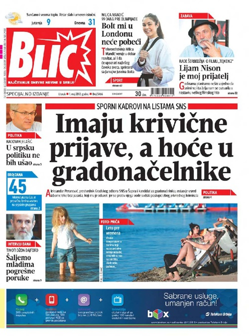 Blic Special edition