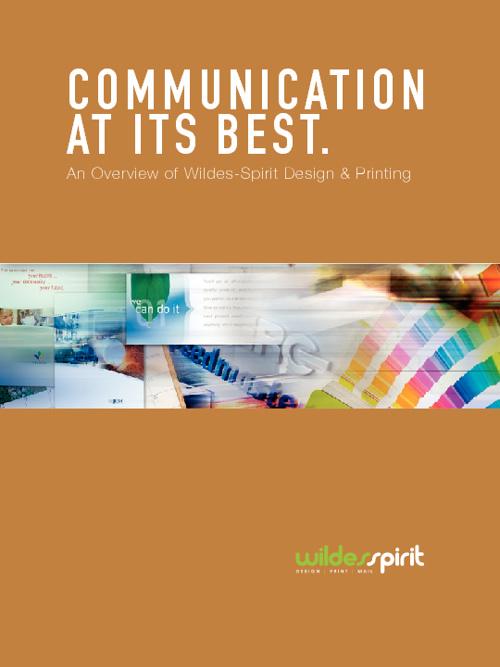 Communications Brochure