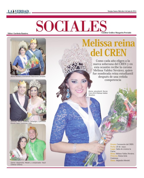 SOCIALES  04 JUNIO 2014