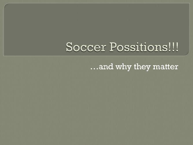 Soccer flipbook