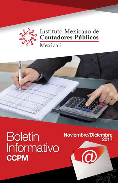 Boletín Informativo - Noviembre-Diciembre 2017