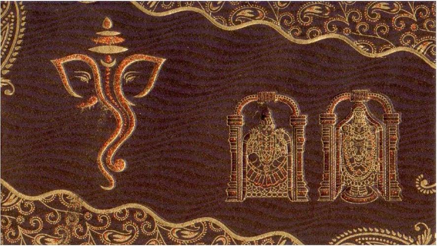 Gayathri Invitation