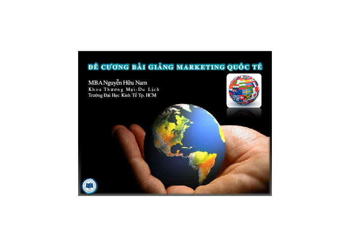 Marketing quốc tế