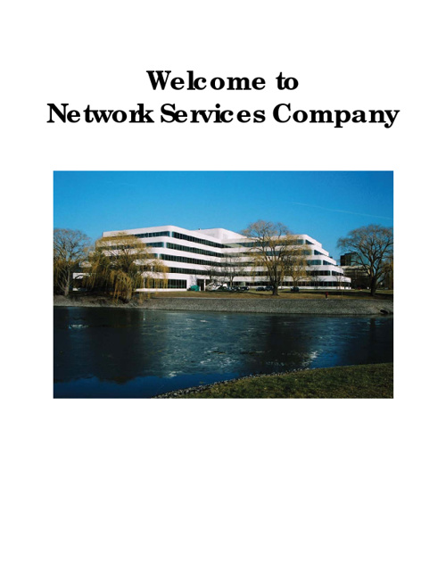 Copy of Welcome to Network Services