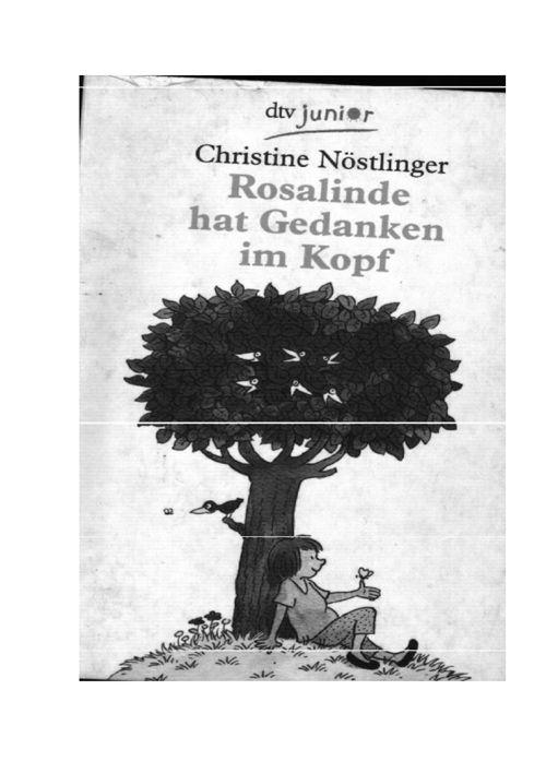 Minibuch Rosalinde