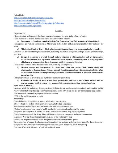 MarineBiologyStudyGuideMidterm[final copy]