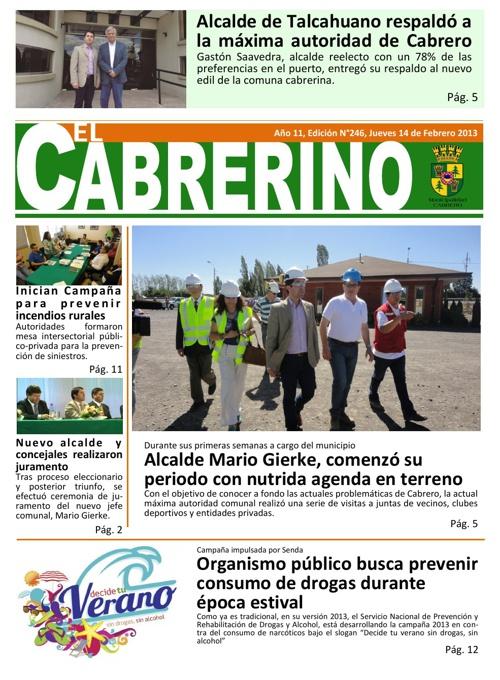 Cabrerino - Edición 246