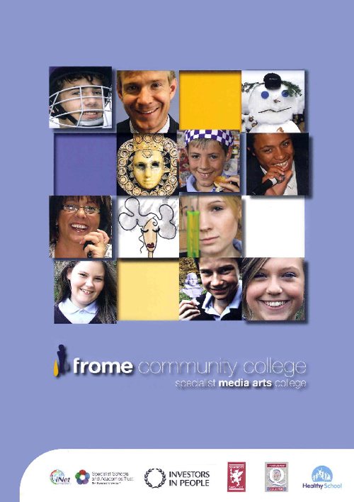 Frome Community College Prospectus