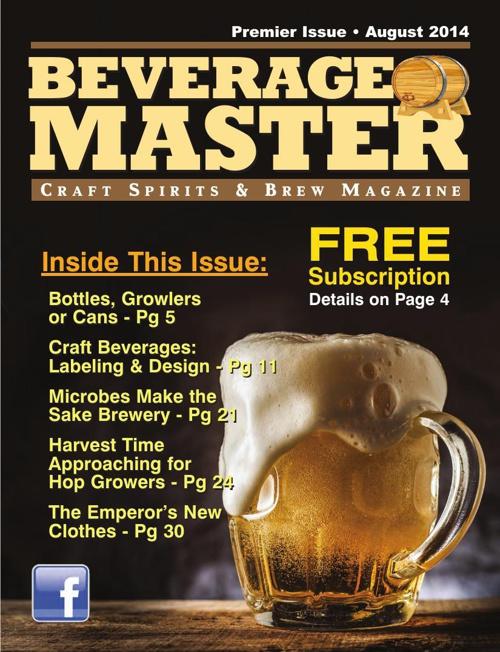 Beverage Master. Premier Issue.August 2014