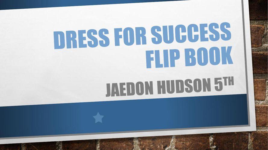 Dress for success flip book