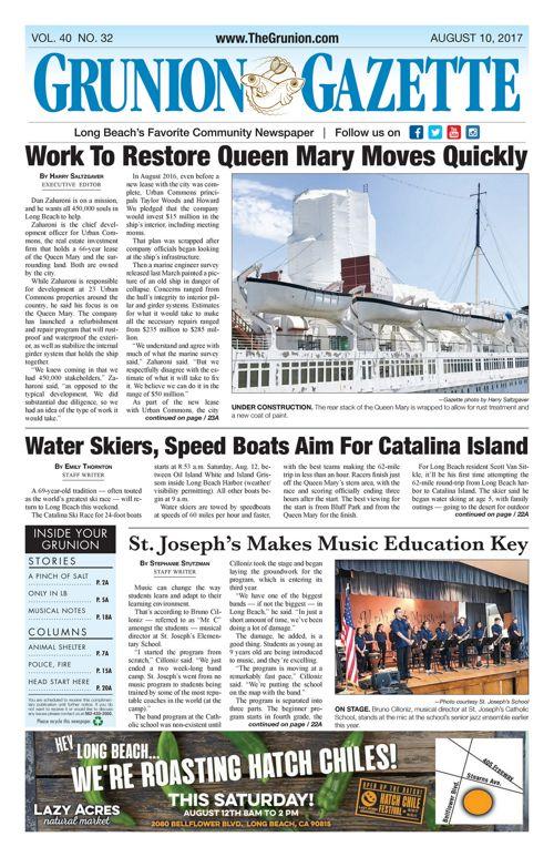 Grunion Gazette     August 10, 2017