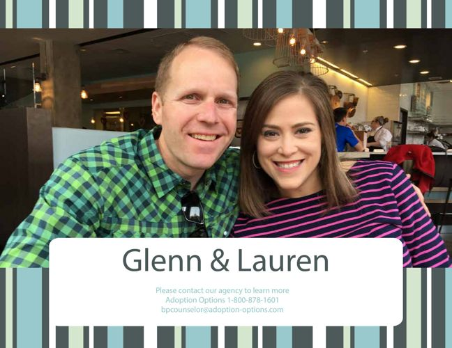 Glenn and Lauren's Adoptive Family Profile