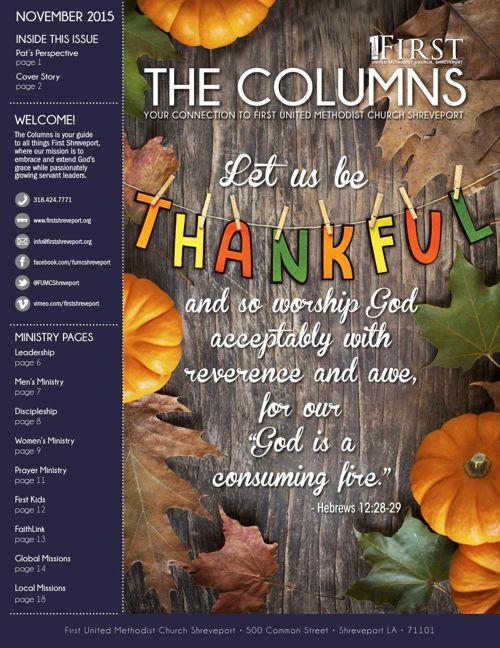 The Columns - November