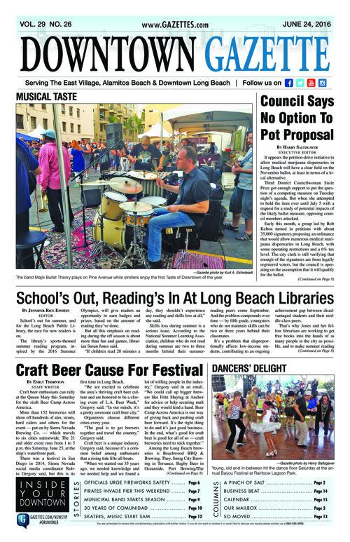 Downtown Gazette     June 24, 2016