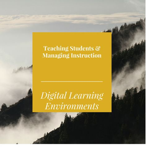 Teaching Students & Managing Instruction