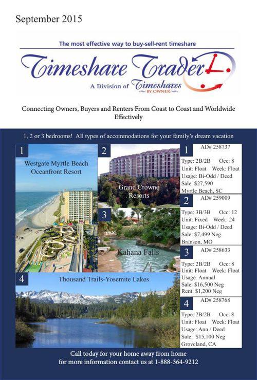 Timeshare September 2015