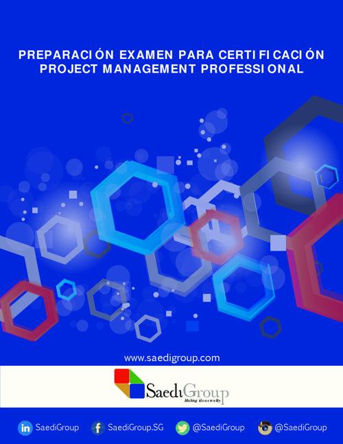 Programa Preparación Examen de Certificación PMP