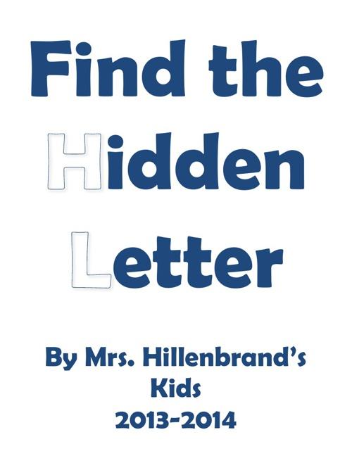 MT Mrs. Hillenbrand's hidden letter book
