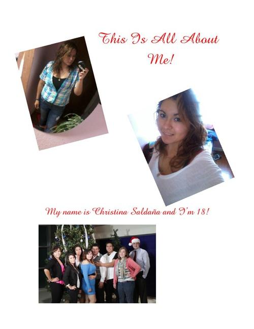 All About Christina Saldaña