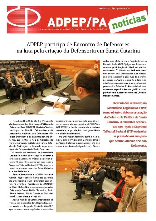 Jornal ADPEP - Layout