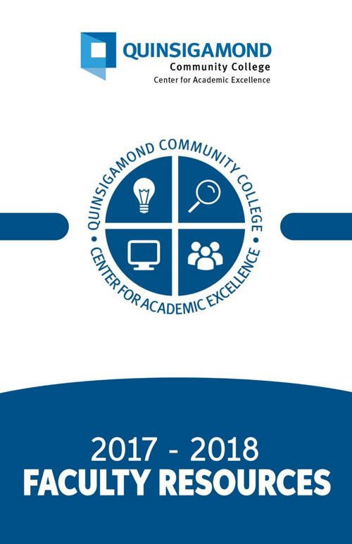 Faculty Resources Booklet - (2017-2018)