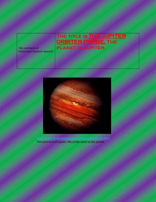 Jupiter Orbiter Probe