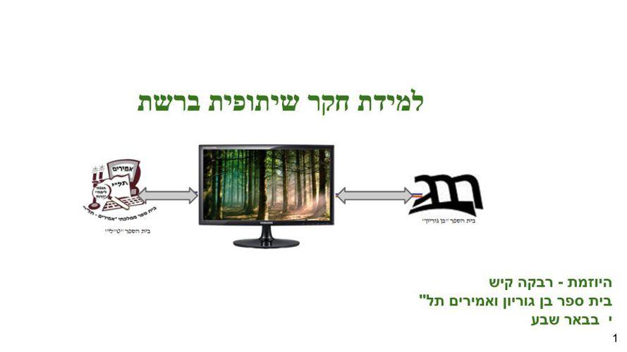 לוגו למיזם ותמונת מצב