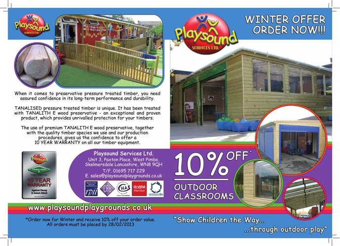 Outdoor Classrooms 2012 Flyer