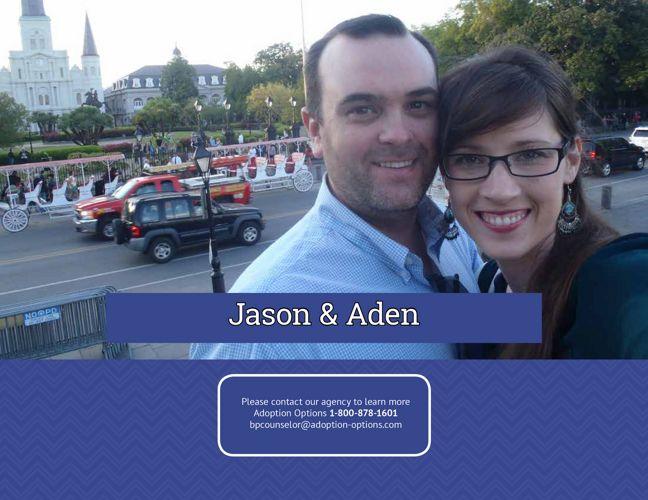 Jason and Aden's Adoptive Family Profile