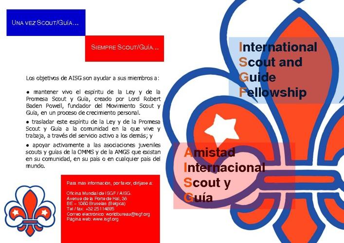 ISGF-AISG.- Diptico
