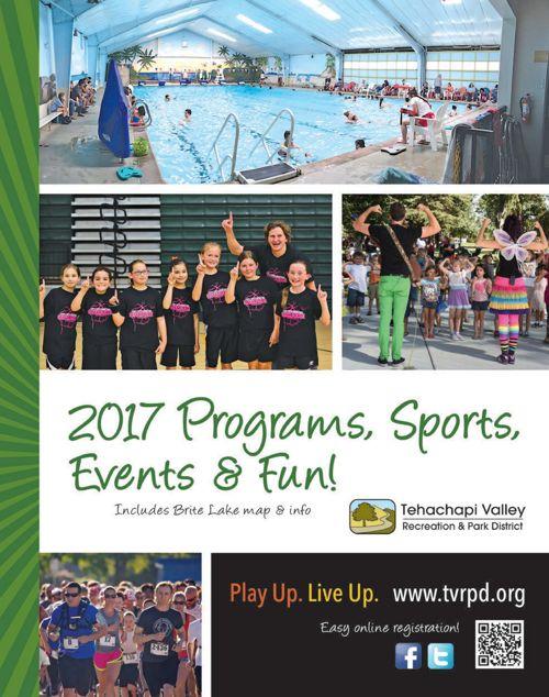 TVRPD 2017 Programs, Sports, Events & Fun!