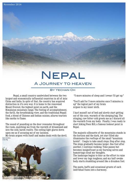 YechanO32225_Nepal Travel Article