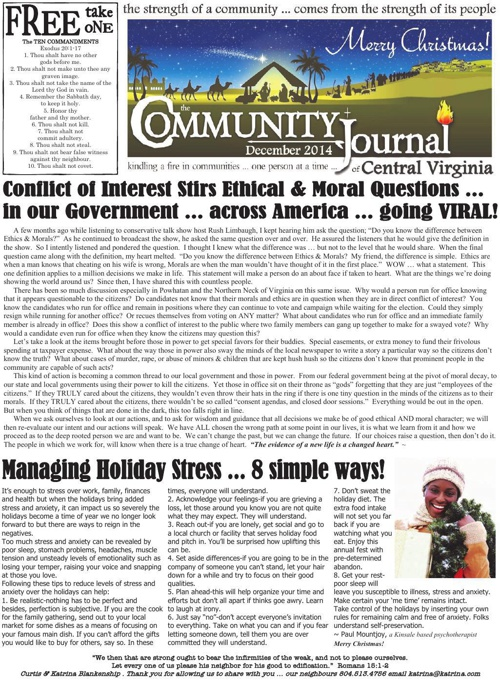 The Community Journal of Central VA