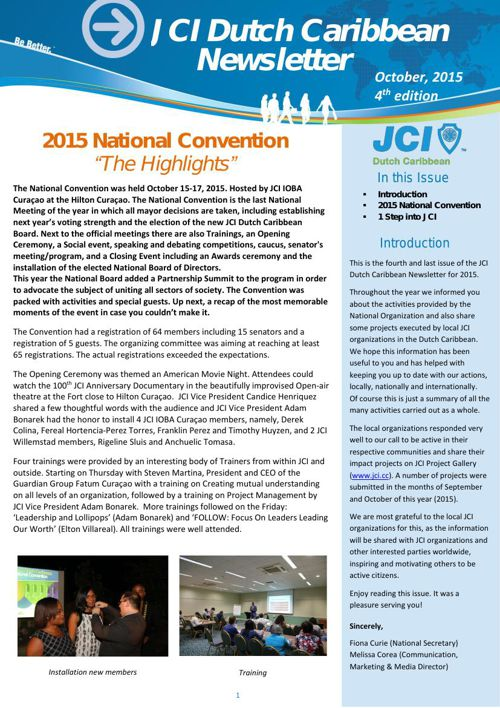 JCI DC Newsletter nr 4