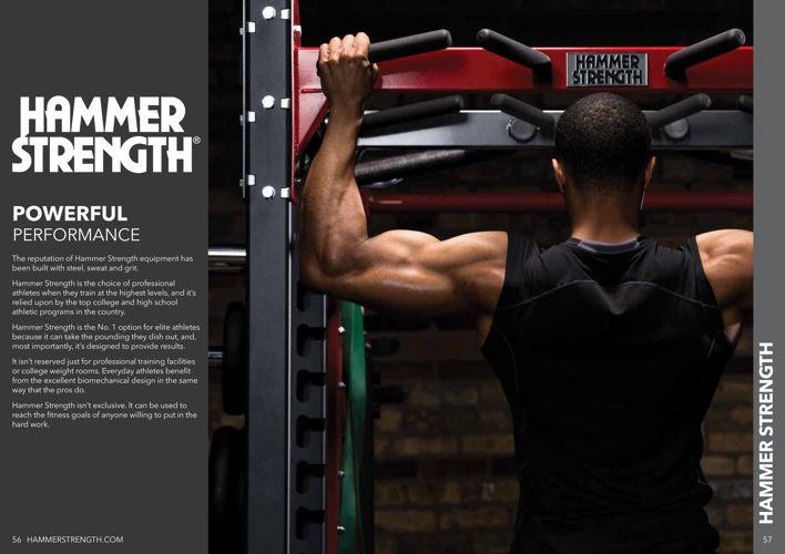 Hammer Strength Commercial Brochure 2016