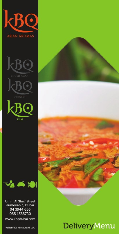 KBQ Thai Menu