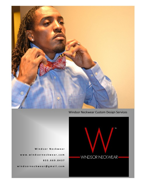 Windsor Neckwear Presents Custom Design Services