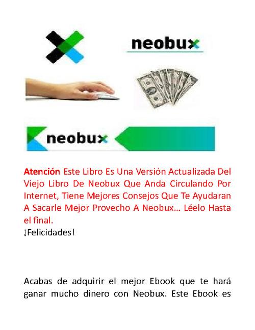 Gana hasta 50$ o mas con Neubux