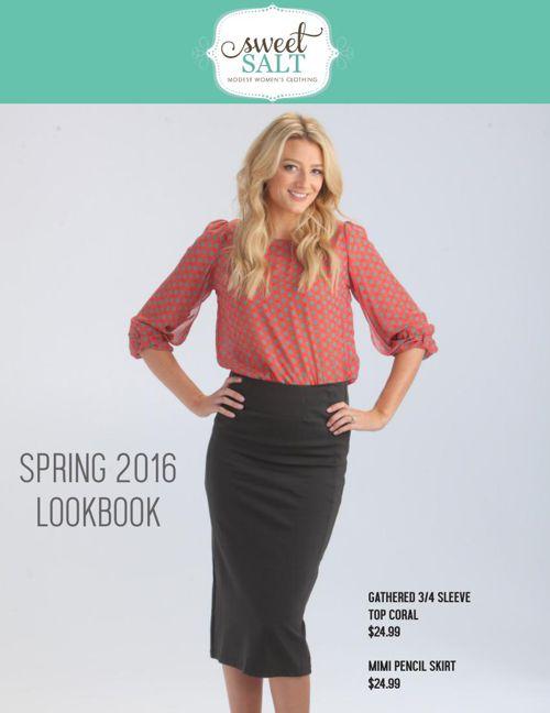 Sweet Salt Clothing Lookbook Spring 2016