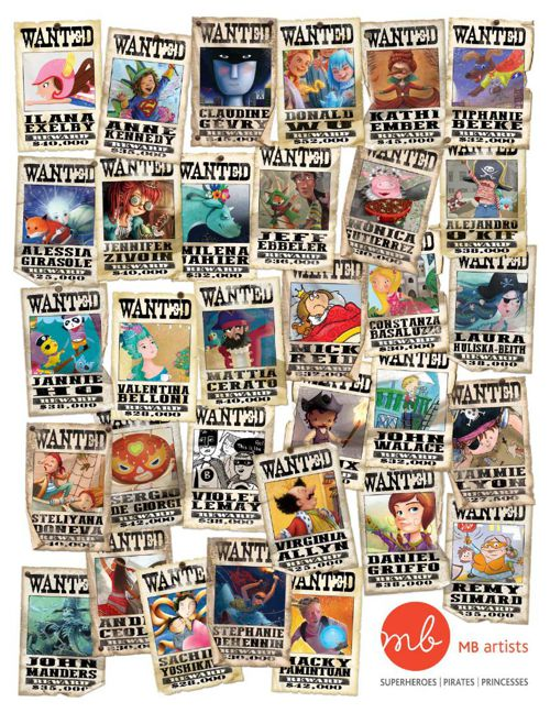 MB Artists Superoes, Pirates & Princesses Catalog