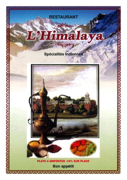 Menu Himalaya