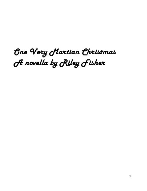 One Very Martian Christmas Novella